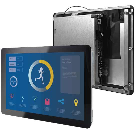 10 inch Open Frame Tablet with Intel Atom Quad Core CPU onboard and PCAP Touch