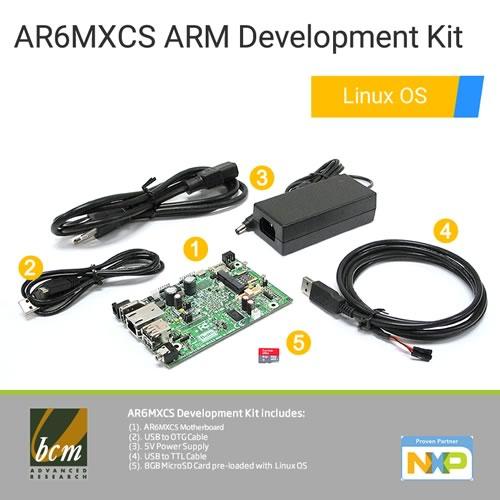 AR6MXCS-DEV AR6MXCS mini ARM Motherboard Development Kit with Linux OS