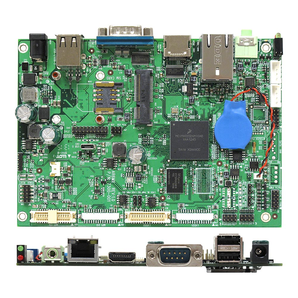 Ar6mxs Nxp Imx6 Arm Cortex A9 Solo Core Low Power Motherboard Circuit Board Components Find