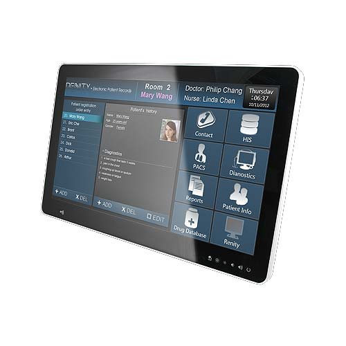21.5 inch Slim design Multi-touch Medical Panel PC