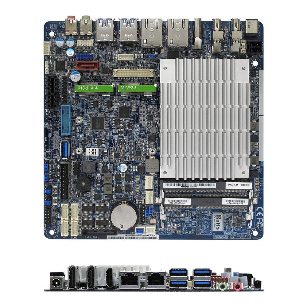 MX3160N Intel Braswell Celeron N3160 Quad Core Fanless Low