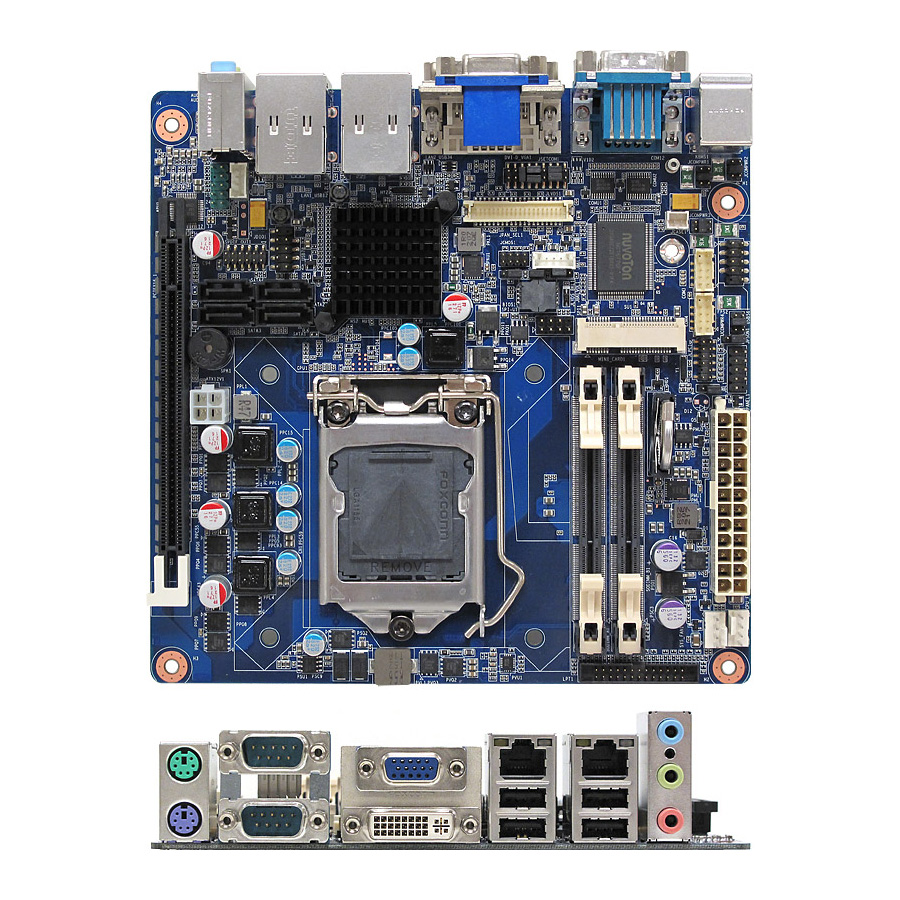 Mx61h Intel H61 Mini Itx Motherboard Supports Core Desktop Electronic Watchdog Kit Quality Electronics Store Kingston Ontario Processors Ivy Bridge And Sandy