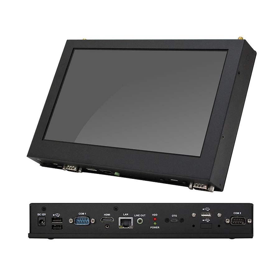10 inch ARM RISC Panel PC with i.MX6 Cortex A9 Quad Core ARM Motherboard Onboard