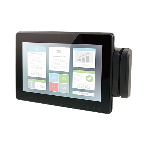 "10.1"" WSVGA Flat Touch Panel PC Intel® Atom™ Processor with Intel® Valleyview SoC"