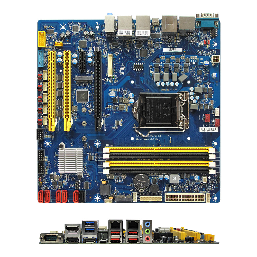 RX370Q Intel Q370 uATX Motherboard supports 8th/9th Gen