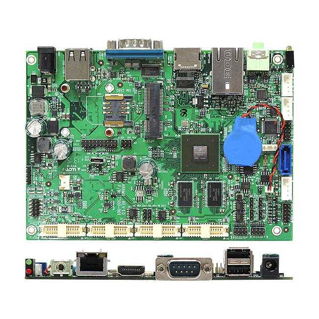 AR6MXQ NXP i.MX6 ARM Cortex A9 Quad Core Low Power ARM Motherboard