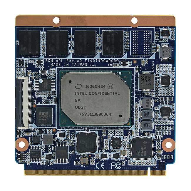 QM-APL Intel Pentium/Celeron/Atom Apollo Lake SoC processor Qseven Module