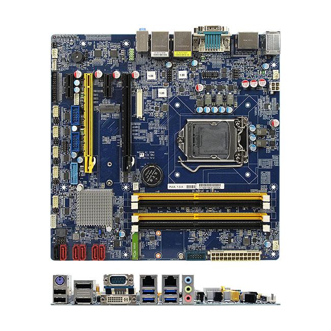 RX170Q Intel Q170 Kaby Lake Skylake uATX Micro ATX