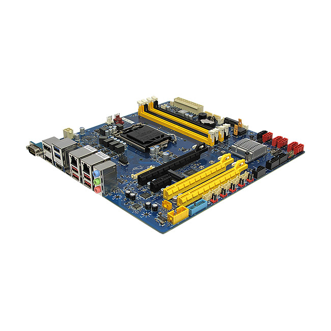 RX370Q Intel Q370 uATX Motherboard supports 8th Gen RX370Q Intel Core-i/Pentium/Celeron Processors