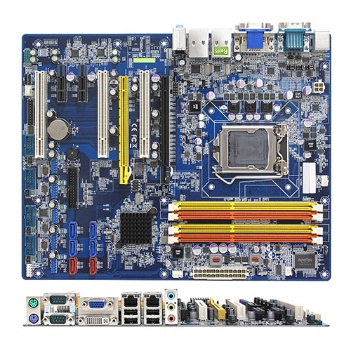 BC206C Intel C206 ATX Motherboard supports ECC DDR3