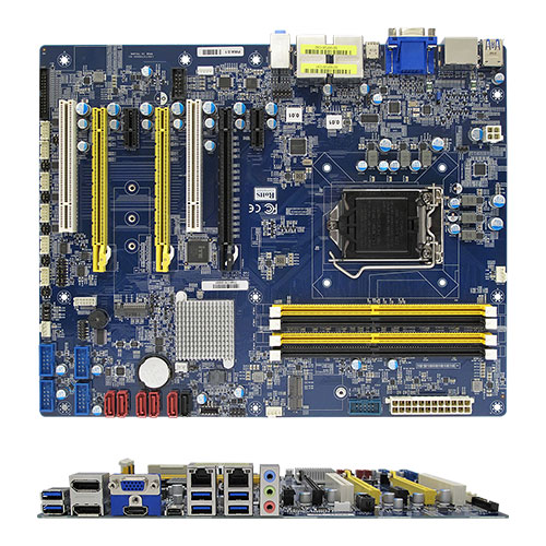 BC370Q Intel Q370 ATX Motherboard supports 8th Gen Intel