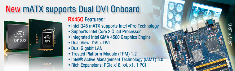 RX45Q support Dual DVI onboard