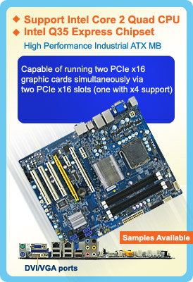 Fully Loaded Low Power Industrial Motherboard - BC35Q