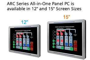 ARC Panel PC Screen Size