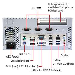 BI360-81H Haswell Mini ITX Barebone System