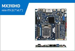 MX310HD mini-ITX Coffee Lake Refresh