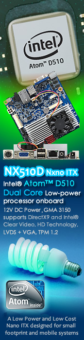 Intel Atom D510 Dual Core 1.66 GHz Low-power Processor
