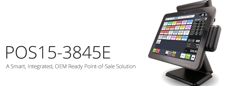POS15-3845E Point-of-Sale Solution