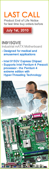 IN915GVE Micro ATX motherboard