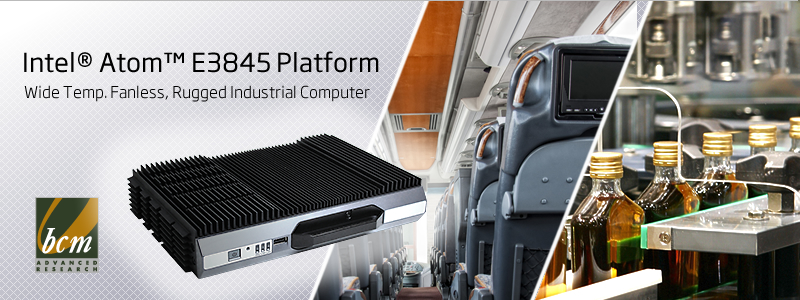 EMS-BYT Rugged Fanless Industrial Computer