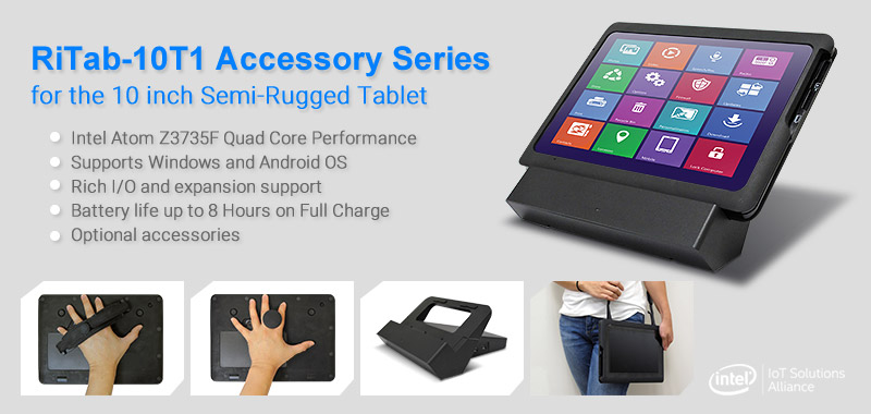 "BCM RiTab-10T1 10"" Semi Rugged Tablet Accessory Series Now Available"