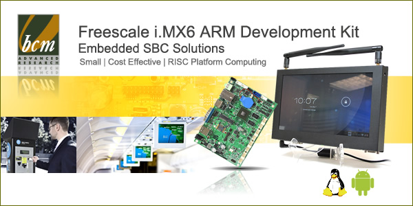 Freescale iMX6 ARM Development