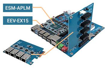 Expansion board for LAN