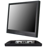 15 inch Fanless Panel PC with Intel® Atom™ D525 Dual Core processor onboard supports DDR3 SO-DIMM up to 3 GB total memory